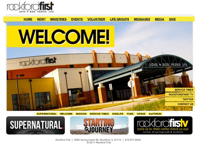 Rockfor First Website
